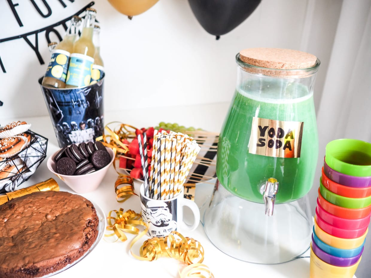 Star Wars Party Food Ideas Yoda Soda